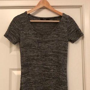 H&M Dresses - H&M dark grey heathered maxi dress